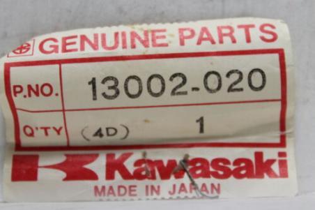 NOS Kawasaki Piston Pin 1972 1973 1974 1975 H2 Mach IV 13002-020